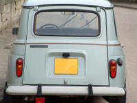 Renault Four Back