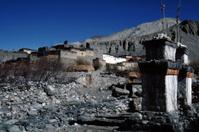 The village of Kagbeni, Nepal