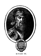 Vintage Woodcut Artwork Edward III