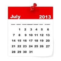 July 2013 - Calendar series