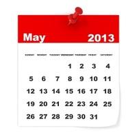 May 2013 - Calendar series