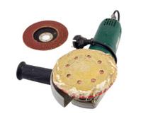 sander grinder tool worn sandpaper head