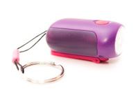 lilac flashlight
