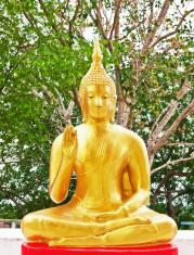 Statue in Buddhism