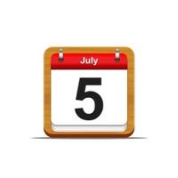 July 5.