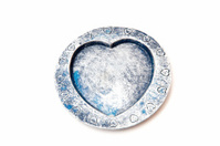 heart shaped ashtray