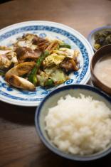 Japanese Chinese cuisine Hoi Kō Rō (Twice cooked pork)