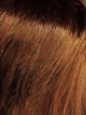 dark brown hair texture background