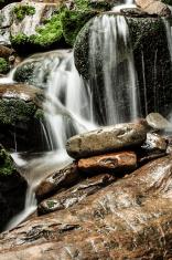 Water flow over Rocks