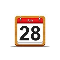 July 28.