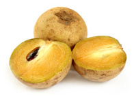Sapodilla fruits