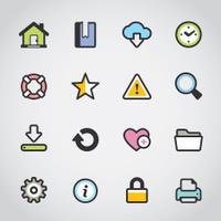 Homepage / Fabrico icons