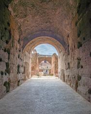 Colosseum interior corridor