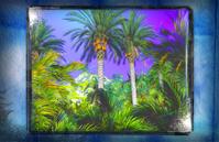 Hawaiian paradise - postcard from  tropical island