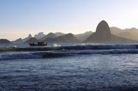Rio de Janeiro Mountains silhuette