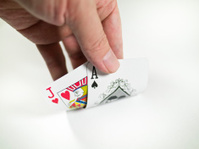 pokers of playing cards