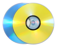 Blank DVD and CD