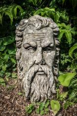 Bearded Stone Head