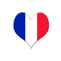 France heart.