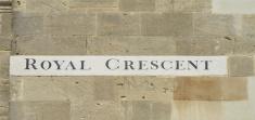 Royal crescent Bath.