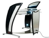 Modern computer desk or workstation
