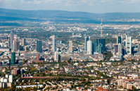The city of Frankfurt