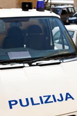 Maltese police van