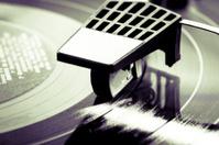 Turntable head on a LP