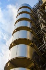 Lloyds Building at golden hour