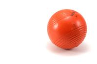 Orange Croquet Ball
