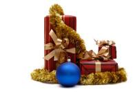 Xmas presents and balls