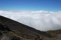 Irazu volcano rim edge - Costa Rica