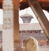 Eastern Durbar Square from Chayslin Dega Mandap-Bhaktapur-Nepal.