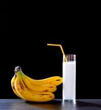 Banana juice.