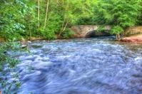 Rushing Water in High Dynamic Range