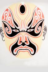 Chinese opera masks, mask