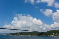 Beautiful view of Istanbul Bosphorus