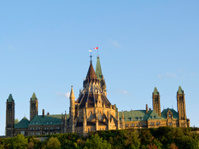Parliament Hill at sunset