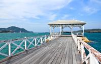 The Beautiful old bridge on Sri chang island