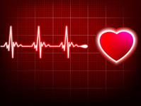 Heart beating monitor. EPS 10