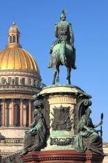 Nicholas I and Saint Isaac's Cathedral