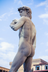 Michelangelo's David - Piazza della Signoria, Firenze, Italy