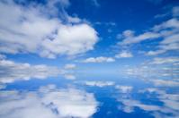 Reflection sky.