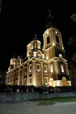 Bosnia Church Sarajevo Night