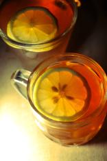 Dark Mood Lemon Tea