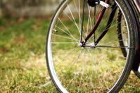 Bike wheel with brake
