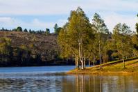 beautiful serene lake