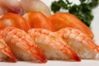 Maki Sushi on the plate
