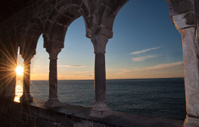 tramonto a porto venere