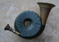 Pocket sized hunting horn